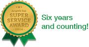 Angie's List Super Service Award Winner!