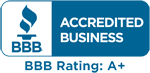 A BBB accredited company since 2005!